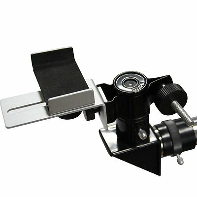 Universal Mobile Phone Clamp Holder Connect to Telescope Microscope for Eyepiece