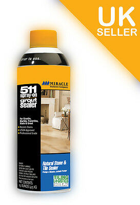 Grout Sealer - Miracle 511 Tile and Grout Sealer Aerosol - Best Sealer in a Can
