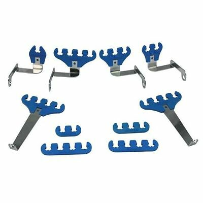 Moroso 72130 Loom Kit; Blue; 7-9mm For Small Block Ford