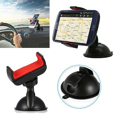 360°Car Holder Windshield Dashboard Suction Cup Mount Bracket for Cell Phone GPS