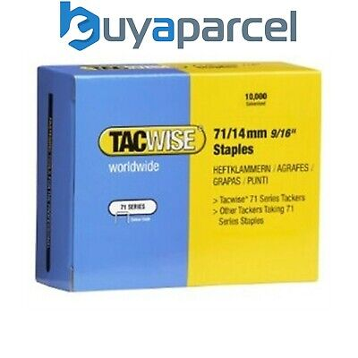 Tacwise 0371 Type 71 Box of 10,000 Staples 14mm 71 Series