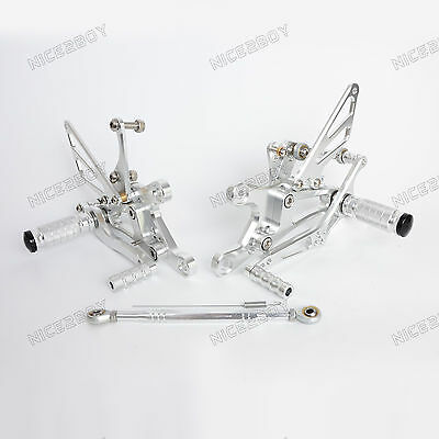 Adjustable Rearsets Rear Sets Footrest for Yamaha YZF-R6 YZF R6 1999-2001 2002
