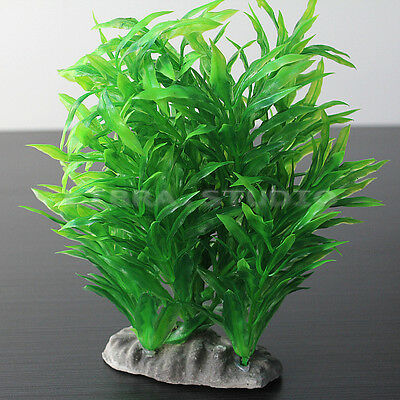 Plante Artificielle Herbe Aquatique Ornement Aquarium Tank Réservoir Pr Poisson