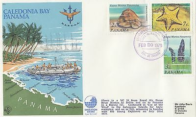(49392) CLEARANCE Panama Cover Operation Drake - 20 February 1979 FAIR To GOOD