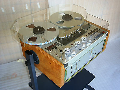 NEW DUST COVER with REEL EXTENSIONS for any Revox A PR etc Reel Tape Recorder