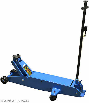 Heavy Duty 10 Ton Hydraulic Long Reach Trolley Floor Jack Car Caravan Van Jeep