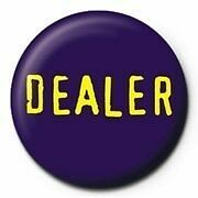 Dealer Button lila