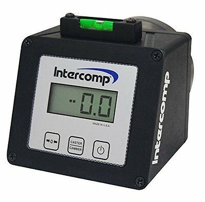 Intercomp 100005 Racing Digital Caster Camber Gauge with Magnetic Adapter w/case