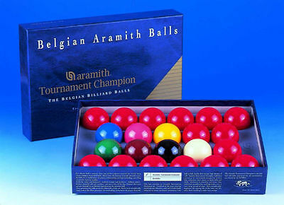 "Tournament Champion 2 1/16"" Snooker Ball Set"