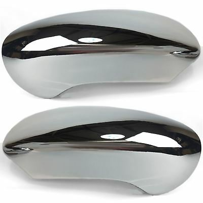 Pair of Chrome wing mirror Covers for Nissan Qashqai 2007-2012