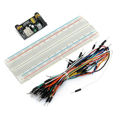 Brand New MB102 Breadboard Power Supply Module kit for Arduino and Raspberry Pi