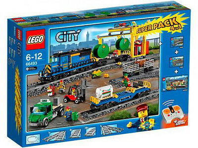 LEGO 66493 City Superpack 4in1 60050 + 60052 + 7895 + 7499 Cargo Train