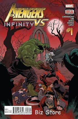 Avengers Vs Infinity #1 (2015) 1St Printing Bagged & Boarded