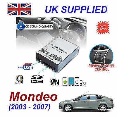 New Ford MONDEO MP3 SD USB CD AUX Input Audio Adapter Digital CD Changer Module