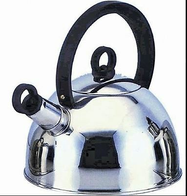 Quest Whistleing Kettle Stainless Steel 2L