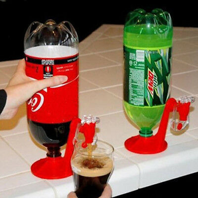 Cool Switch Water Dispenser Hand Pressure Pump Drinking Device For Coke Bottle