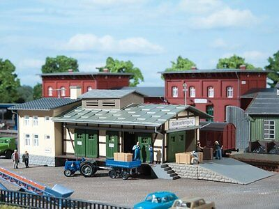 Auhagen 13219 Goods shed in TT NEW PRODUCT