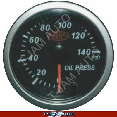 Holden HSV VY VZ VE SAAS Streetline Oil Pressure Gauge  Black Face 52mm NEW