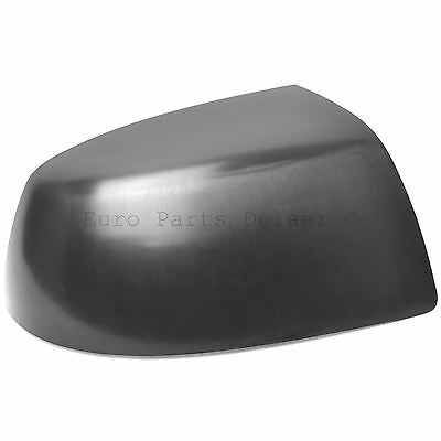 Right Driver Side Wing Door Mirror Cover Casing Black For FORD FOCUS 2005-2008