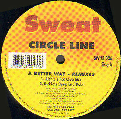 Circle Line - A Better Way - Sweat - Swhr 026 - UK