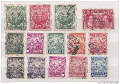 Barbados Early Mint & Used Collection BA258