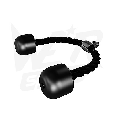 We R Sports Tricep Pull Rope Handle Attachment Gym Machine Pull Down Cable