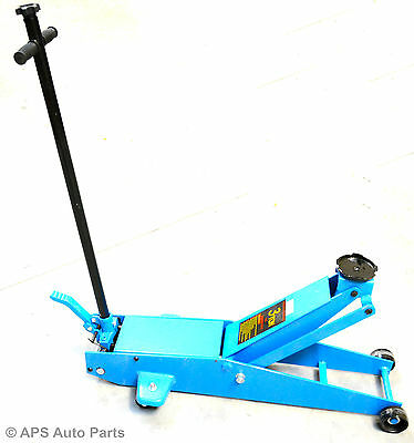 Heavy Duty 3 Ton Hydraulic Long Reach Trolley Floor Jack Car Caravan Van Jeep