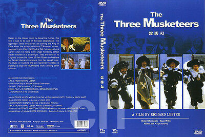 The Three Musketeers (1973) - Richard Lester, Michael York, Oliver Reed  DVD NEW