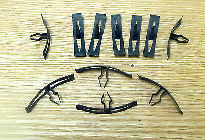 1955 1956 CHEVY FIREWALL COWL TO HOOD WEATHERSTRIP RETAINER CLIPS   New  * USA*