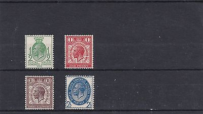 GB 1929 PUC set 4v SG434-437 Unmounted Mint REF: W721