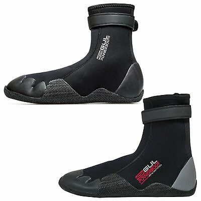 Gul 5mm Power Neoprene Adult Wetsuit Boots Watersports Surf Sailing Mens Ladies