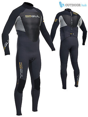Gul Mens Response 3/2mm Blindstitch Steamer Wetsuit Neoprene Surfing Sailing