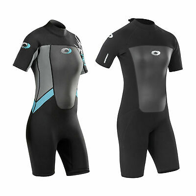 Osprey Origin Womens 3/2mm Shorty Neoprene Wetsuit Ladies 3mm Shortie Kayak Surf