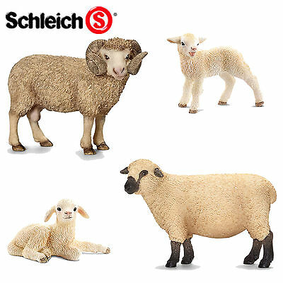 SCHLEICH World of Nature Farm SHEEP - Choose for 11 different Sheep all with Tag