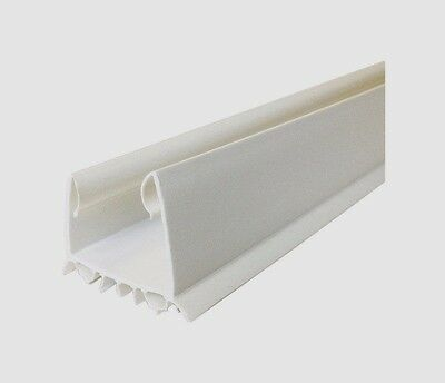 "New!! 43336 M-D Building 36"" WHITE Cinch SLIDE UNDER DOOR SEAL Weather Air Draft"