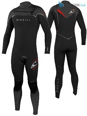 O'Neill 5/4mm Mens Psycho One BS Winter Wetsuit Chest Zip 5mm Full Length Surf
