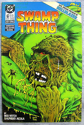 Swamp Thing #67 KEY ISSUE John Constantine HELLBLAZER Special Preview EXCELLENT