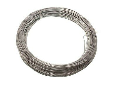 Galvanised Garden Fencing Wire H/d 1.25Mm X 50M 19A4