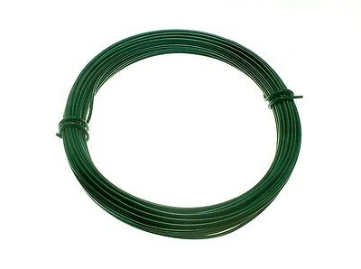 Green Garden Plastic Coated Wire 1.4Mm X 15M 19A8