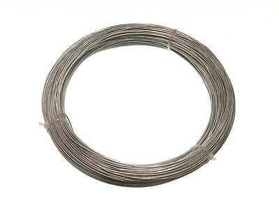 Lot 10 Rolls Of Galvanised Garden Wire 1.0Mm X 80M 19A3