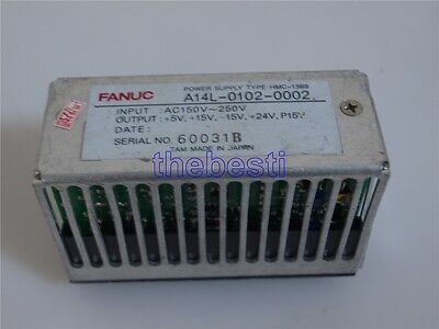 1 PC Used Fanuc A14L-0102-0002 Power Supply AC150V-260V In Good Condition