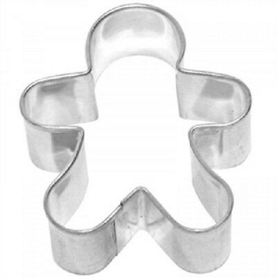 Large Gingerbread Boy Gingerbread Man Stainless Steel Cookie Cutter.