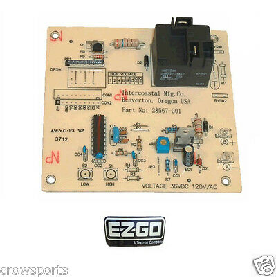 Ezgo Golf Cart 36 Volt Total Charge I, Iii, Iv Charger Control Board  28668-G01