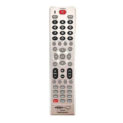 Universal LCD LED HD TV Remote Control For Apple TV HISENSE TOSHIBA & MORE