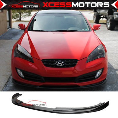 For: 10-12 Hyundai Genesis 2Dr Coupe Front Bumper Lip Spoiler Urethane