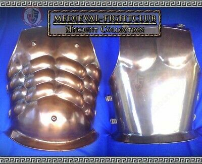 Wearable muscle cuirass / thorax made with copper finish for reneactment