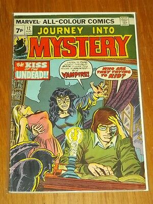 Journey Into Mystery Vol 2 #12 Vg- (3.5) Marvel Comics August 1974+