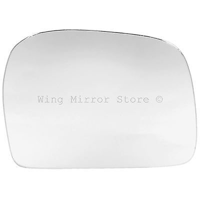 Right Driver Side WING DOOR MIRROR GLASS For Toyota Hilux 1998-2005 Stick On