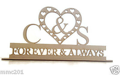 MDF Wooden Wedding / Name Stand (custom made)
