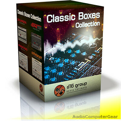 D16 Group CLASSIC BOXES COLLECTION Software Synth Plug-in Synthesizer Bundle NEW